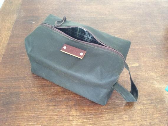 f9db3d4b267 Personalised washbag present for men groomsmen presents   Etsy