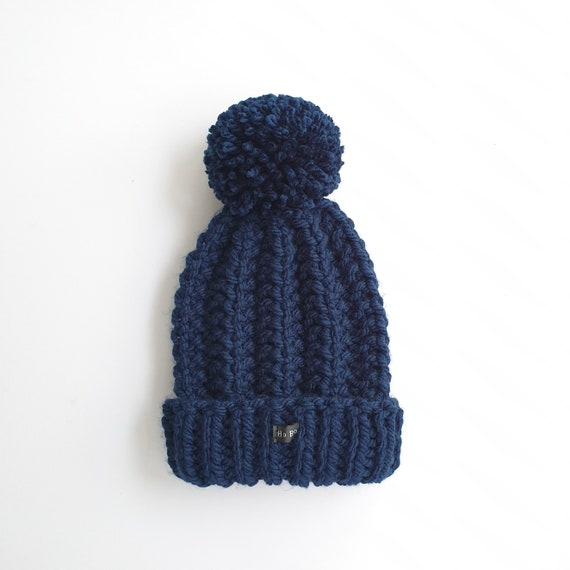 KIDS FUN FAIRISLE BOBBLE HAT POMPOM KNIT WINTER WARM 4 COLOURS THERMAL FLEECE