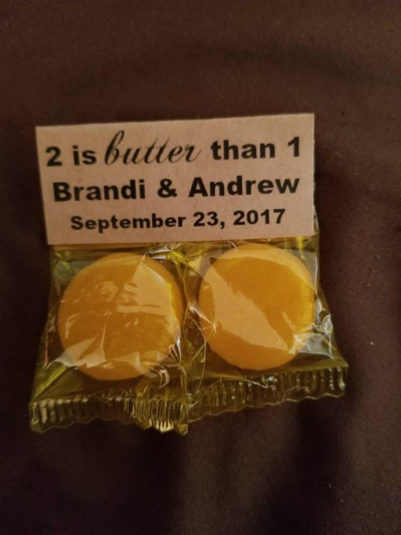 Rustic wedding favors. Wedding favors 100 Butterscotch wedding favors