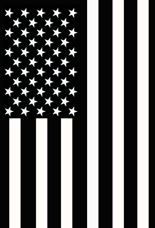 flag american military fallen yard garden any again service
