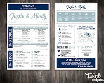 infographic printable wedding programs customizable wedding program funny wedding program