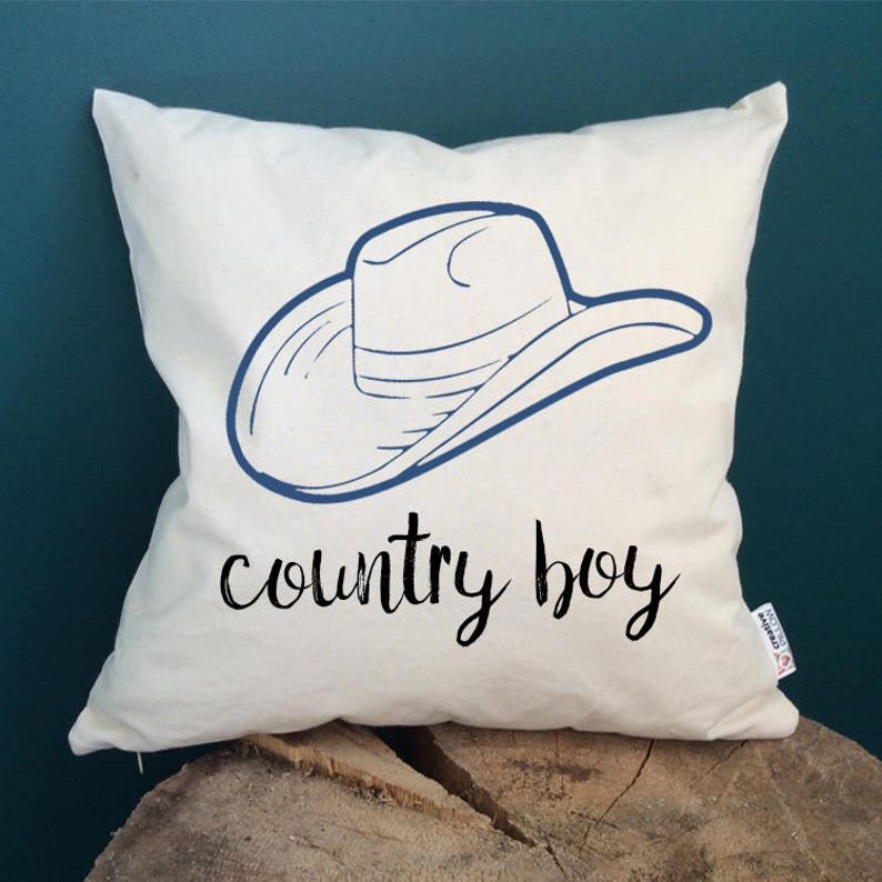 Gift For Men Country Boy Quote Pillow Friends