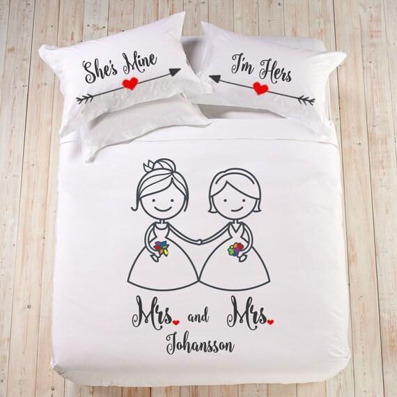 Lesben Personalisierte Hochzeitsgeschenk Frau Und Frau Etsy