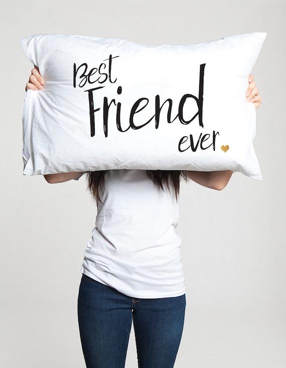 Beste Vriend Ooit Case Cadeau Idee Voor Vriend Verjaardag Cadeau Interlokale Vriend Vriendschap Verhuizen Weg Kerst Bff Vriendschap Unieke Hoofdkussen