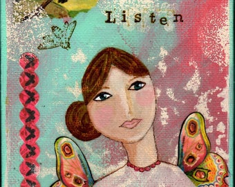 Listen, In the stillness can be heard your Soul's sweet song