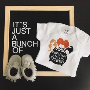 Baby Onesie Baby Shower Gift I/'ve Put A Spell On You Hocus Pocus My Diapers Corgi Halloween Gift Pregnancy Announcement