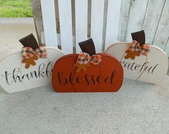 Pumpkin Shelf Sitters