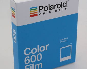 Polaroid Originals Color / Colour Instant Film for use with Polaroid 600 Cameras - Brand-new 2018 Stock - Classic White Frame