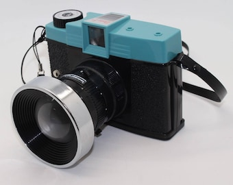 Diana F+ 'Toy' Film Camera with two lenses (standard 75mm and 110m Telephoto) with manual - Made by Lomography / Lomo - Very collectable