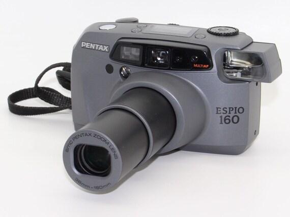 pentax espio 160 35mm film zoom auto focus camera with etsy rh etsy com Espio exe Silver the Hedgehog