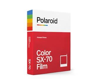 Polaroid Colour / Color Instant Film for Polaroid SX-70 Cameras - Brand-new Stock - Classic White Frame
