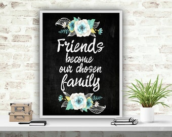 Gift for Best Friend Printable Quote Print Wall Art Print Friend Quote Instant Download Wall Decor Printable Art Print Printable Poster