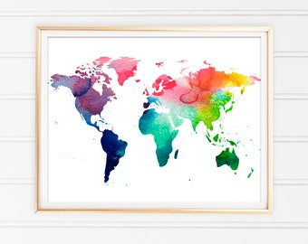 World map printable etsy gumiabroncs Image collections