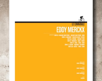 1969 Tour de France Eddy Merckx_A3 print
