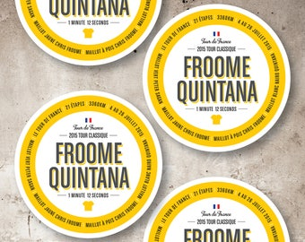 Pack of 4_Tour de France 2015_Coasters