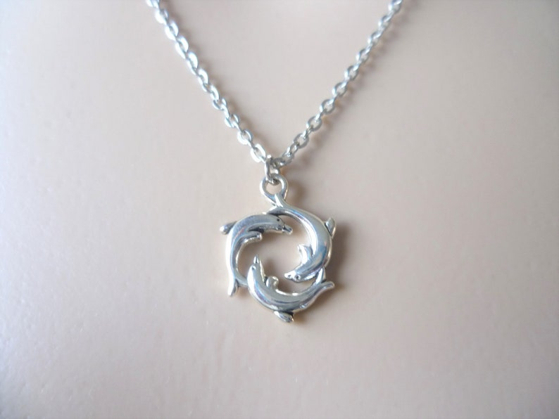 16. Dolphin Charm Necklace