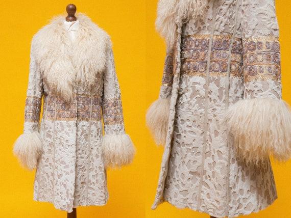 "UNREAL vintage mongolian/tibetan fur coat. ""Penny"