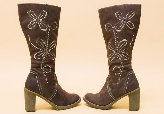 Penny Lane vegan boots! Magical 1960s 1970s go go