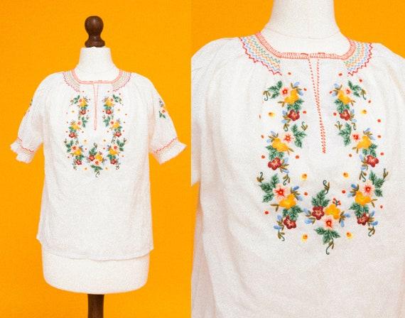 Penny Lane floral top !  Beautiful 1970s vintage P