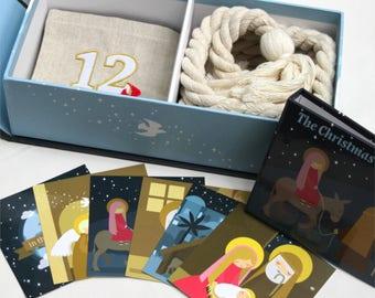 Nativity Advent Calendar Kit - FREE SHIPPING