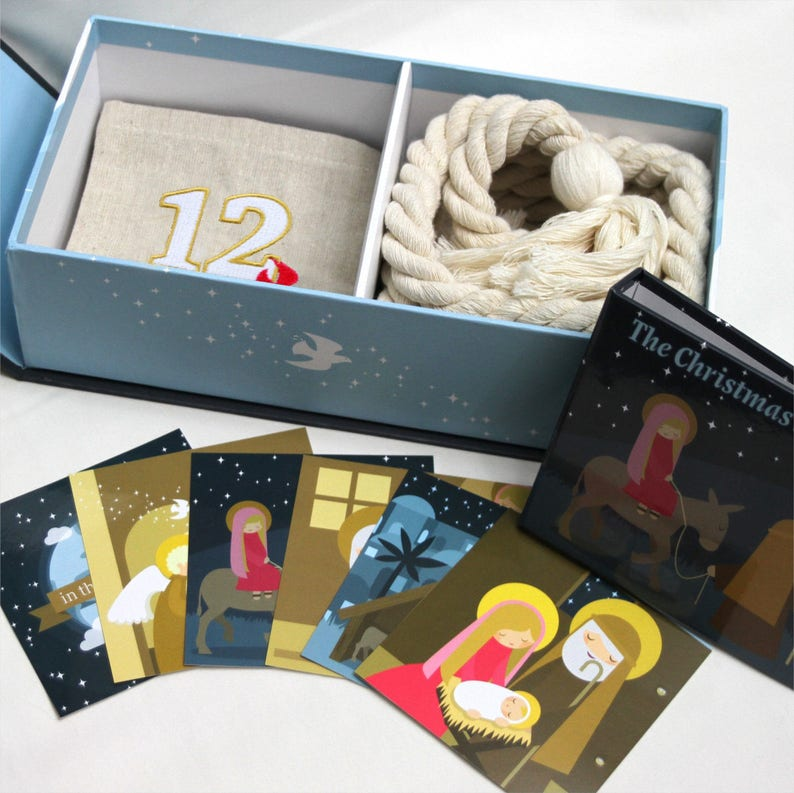 Nativity Advent Calendar Kit  Bulk Package  36 kits per image 0