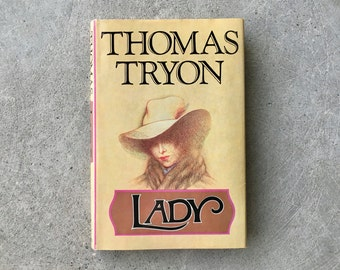 Vintage | 1974 Lady by Thomas Tryon | First Edition | Hardcover | Dust Jacket | Perfect Vintage Condition