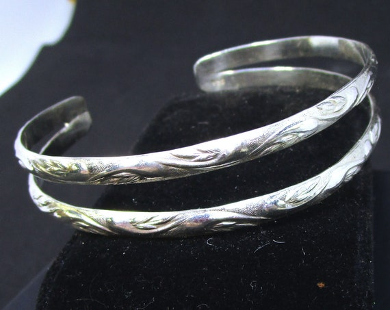 Double BR-050 Bracelet Silver 925 free shipping