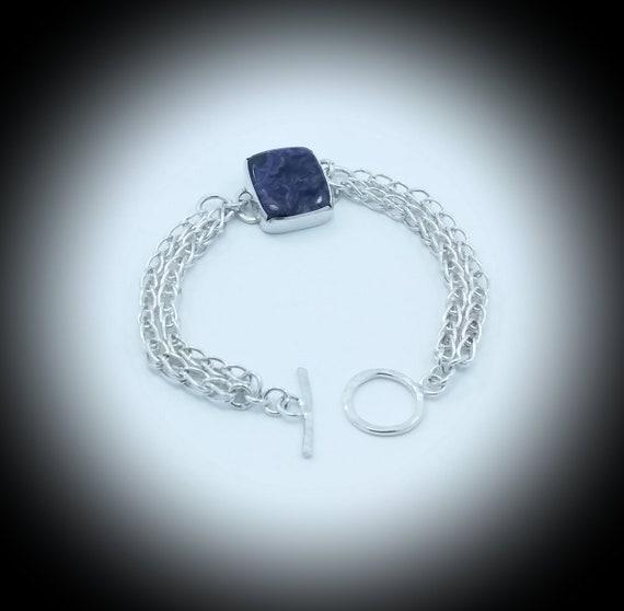 Silver bracelet 925 entirely handmade