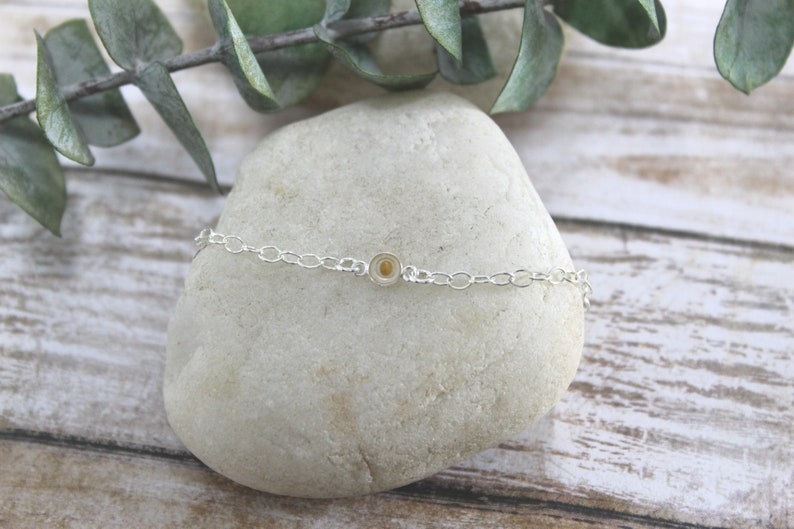 Mustard Seed Bracelet  Sterling Silver  Faith Jewelry  image 0