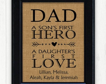 Dad From Kids Father Son Gifts For Birthday Gift Dads