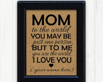 Mom Gift Mothers Day Unique Mother Birthday For