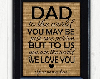 Fathers Day From Kids Gift IdeasThanksgiving For Dad Father Ideas