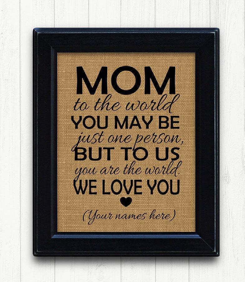 Christmas Gift for Mom Mom Christmas Gift Perfect gift for | Etsy