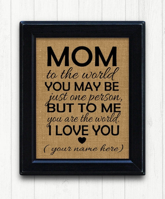mom birthday from daughter gifts for mother personalized mom etsy