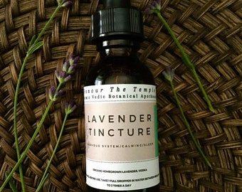 Lavender Tincture  ***Limited Seasonal***