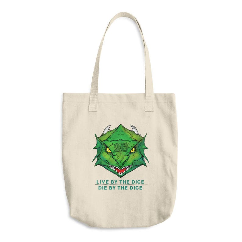 Tote Handbag of Holding DnD Pathfinder inspired Cotton Tote  9c51796ece7c3