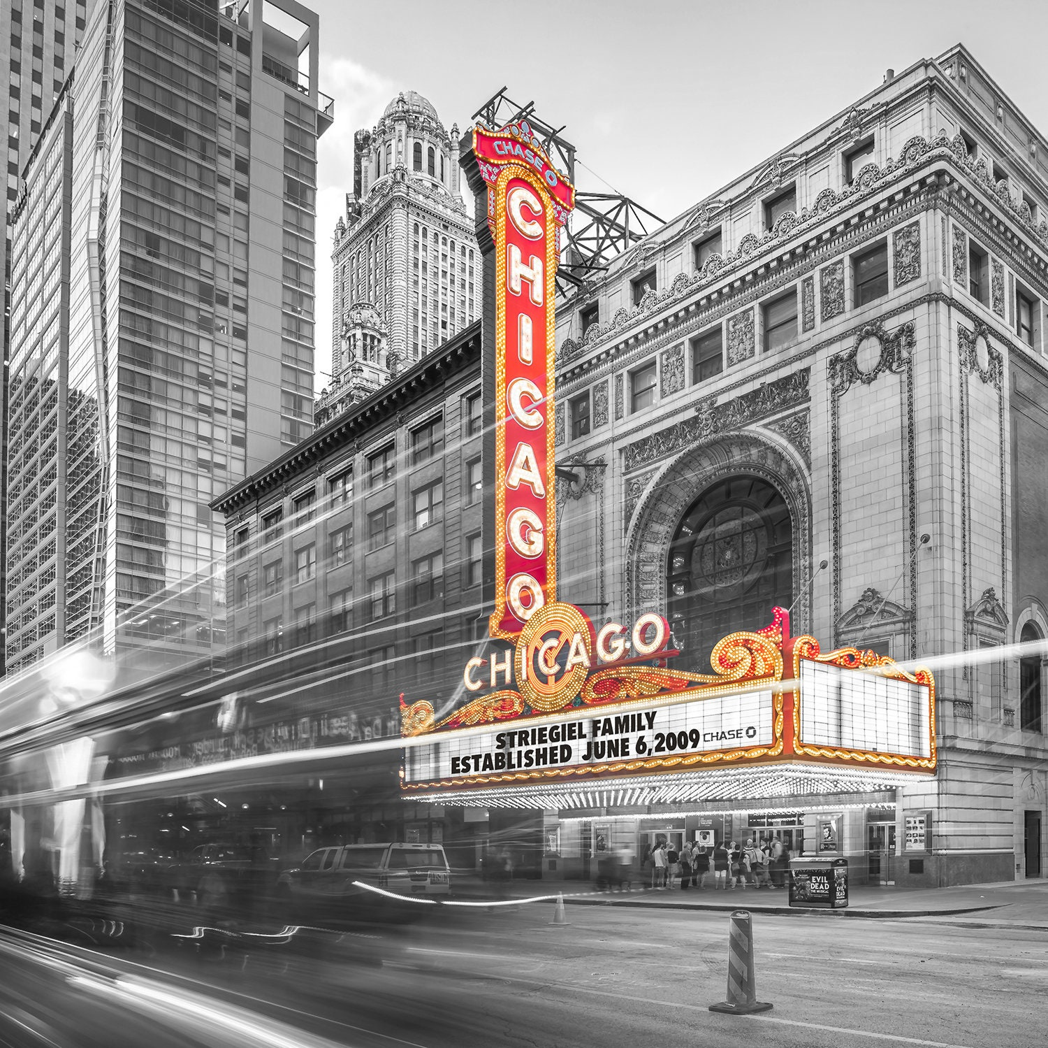 Personalized Gift Chicago Theatre Create Your