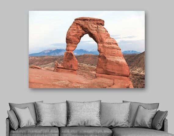 Utah Landscape Arches National Park Print Giclee Photography Utah Wall Art USA Travel