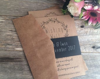 Rustic wedding invitation | wedding invites | rustic invitation | boho wedding invite | wedding stationery | boho invitation suite