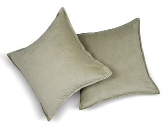 Mint velvet pillow | Etsy