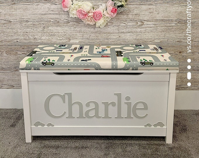 Personalised Car style toy box