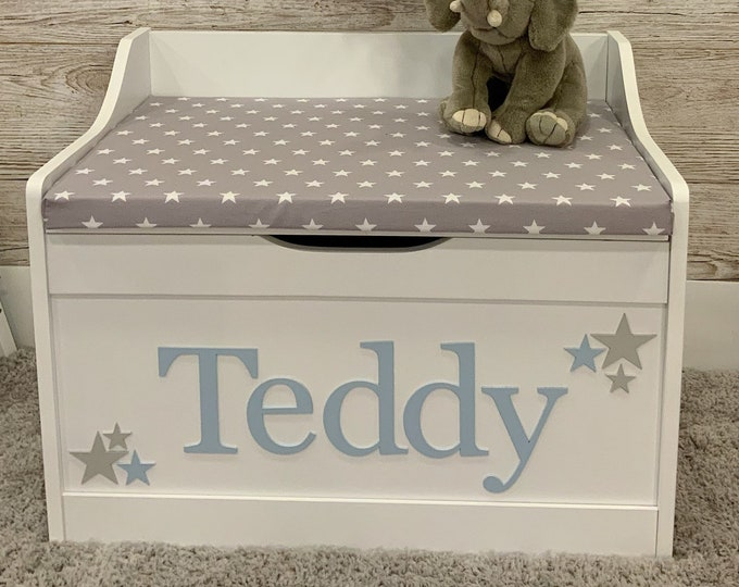Look at the Stars Personalised toy box