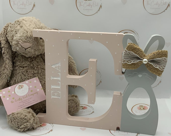 Personalised Easter Bunny egg holder
