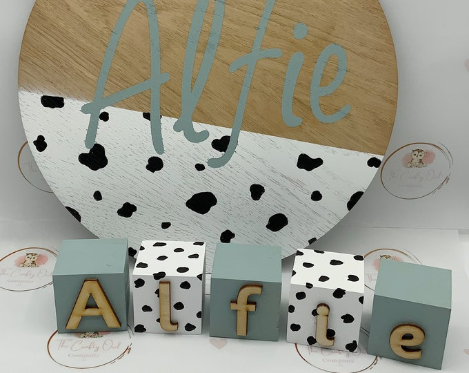 Personalised Wooden name plaque