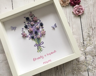 Mothers day - birthday - personalised gift - frame