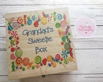 Grandads sweetie box