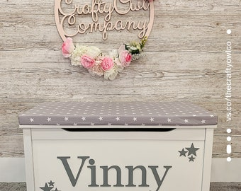 Personalised toy box Star Style