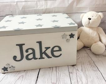 New baby keepsake memory box