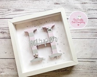 new baby personalised frame INTRODUCTORY OFFER