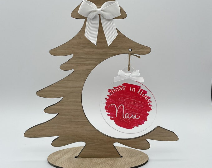 Memorial Christmas tree decoration